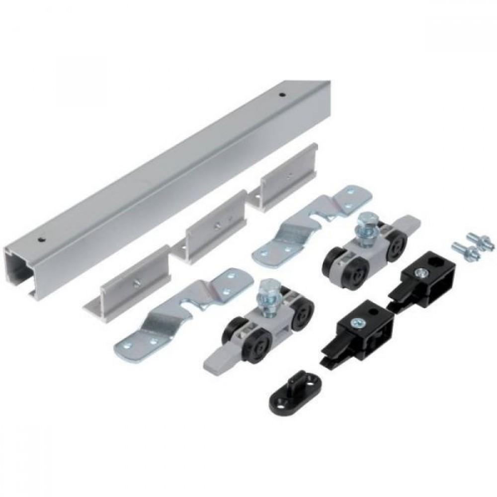 Kit porte coulissante int/érieur Mantion Charge 80 kg Rail 3 m