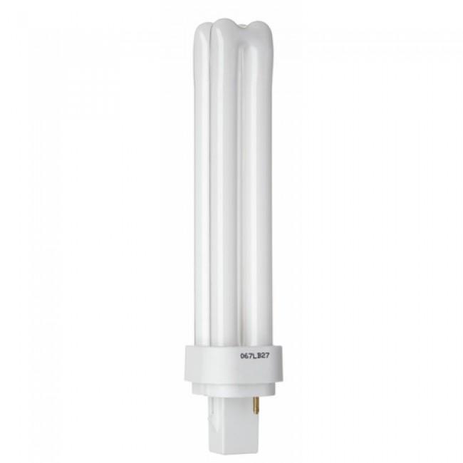Lampe fluocompacte Biax D 2 broches - Culot G24d GE LIGHTING