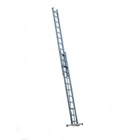 Echelle coulissante à corde - de 6m30 à 9m45 ESCALUX
