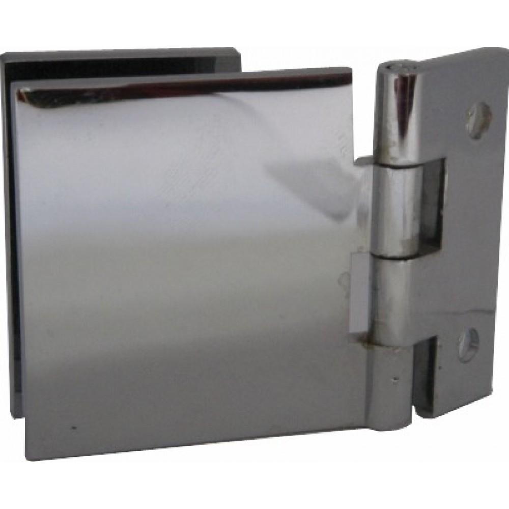 Lot de 4 charni/ères de porte en verre de 6 /à 8 mm /à 90 /° Pour porte en bois et verre 6 mm 8 mm