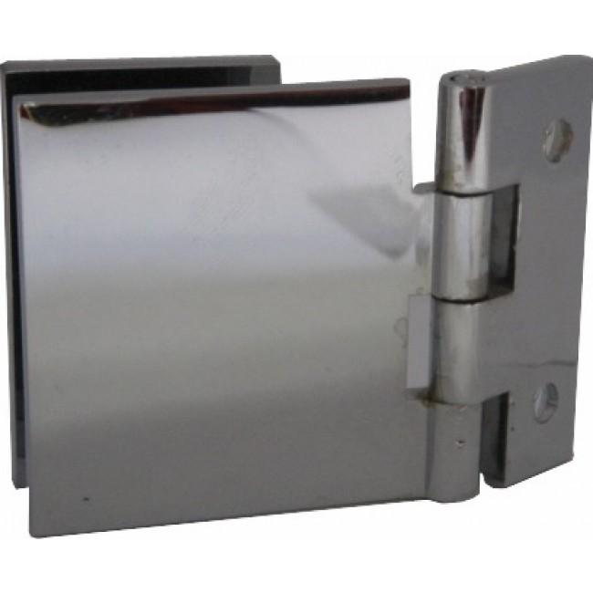 Charnières à contre-plaque verre/bois-40x40 mm MOD
