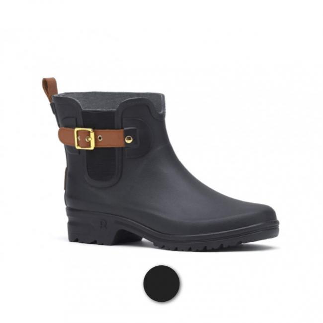 Demi-bottes caoutchouc - Active Style noires ROUCHETTE