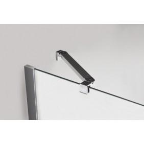 Équerre d'angle pour parois de douche 5 - 6 et 8 mm LEDA