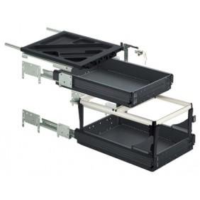 Caisson à tiroirs et dossiers suspendus - kit complet - Systema HETTICH