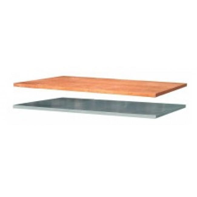 Plateau établi - bois - métal - 1,2 à 2 m OUTIFRANCE