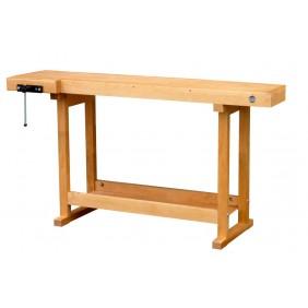 Établis bois enfant 120x40cm - 1 presse horizontale OUTIFRANCE