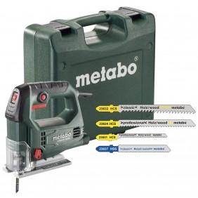 Scie sauteuse 450W STEB 65 Quick + 20 lames en coffret METABO