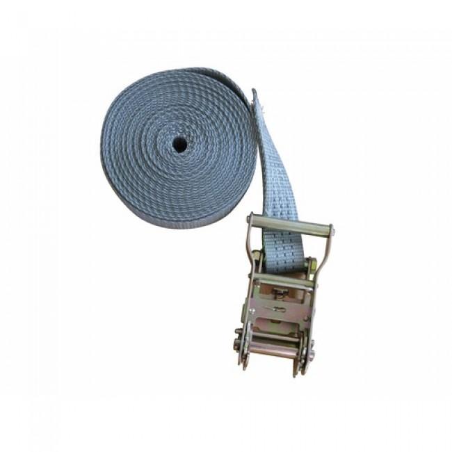 Sangle à cliquet - en polyester - 1 crochet - 7 m - largeur 35 mm - 3T