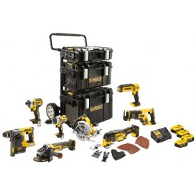Pack outillage électroportatif XR 18V - 8 machines - DCK853P4-QW DEWALT