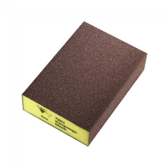 Éponge abrasive - 4 faces souples - Flex block SIA