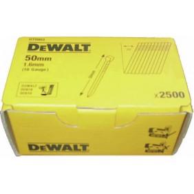 Pack pointes lisses acier pour cloueur sans fil DC618KA/DC618KB