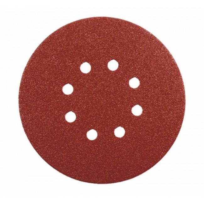 Abrasifs disques 6 trous papier corindon auto-agrippants KP508510 E VSM