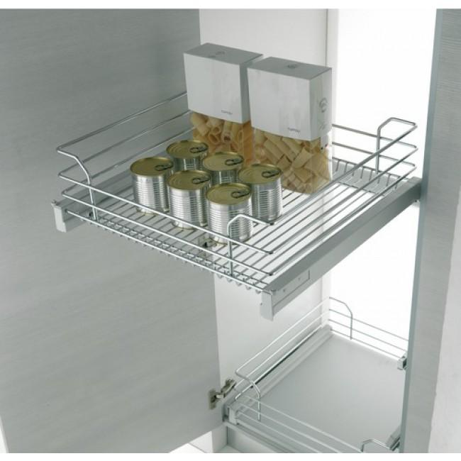 Panier extractible pour placard de cuisine gold 1202 b for Panier placard cuisine