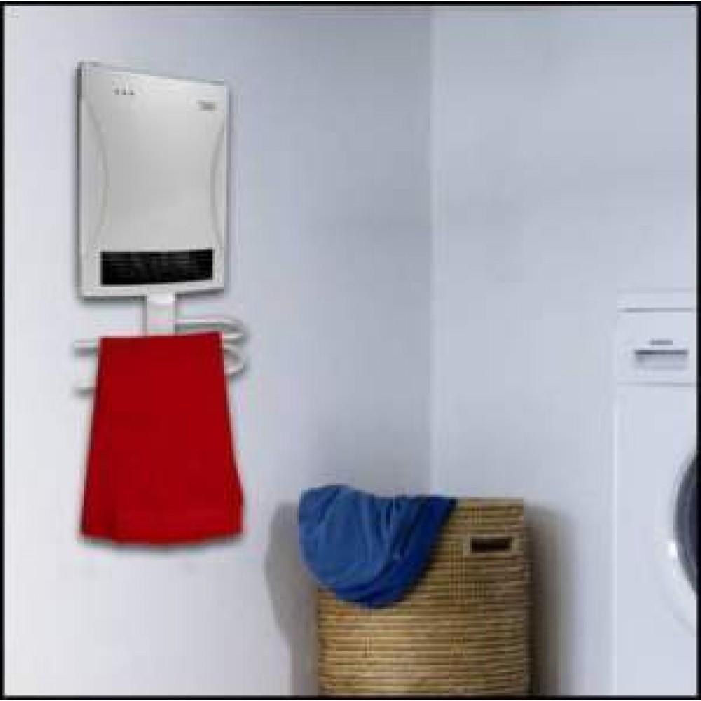 Chauffage soufflant s che serviettes pour salle de bain bh 2000 h bricozor - Chauffage soufflant salle de bain ...