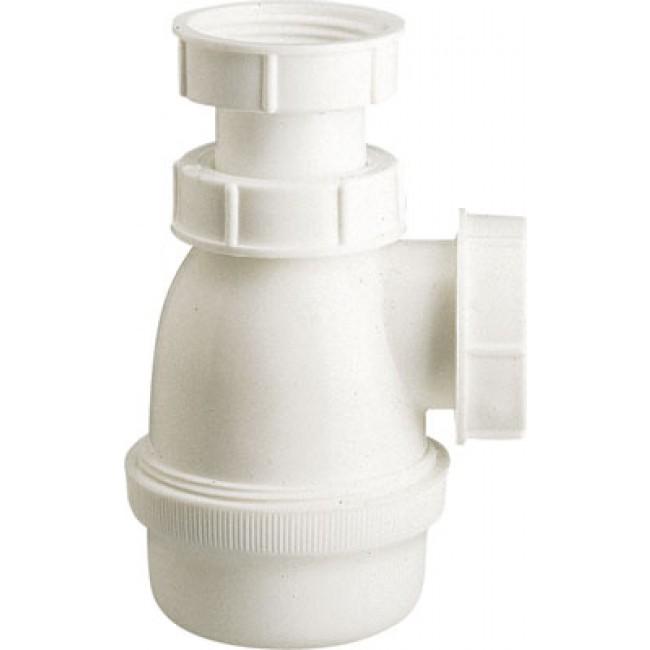 Siphon de bidet en polypropylène NICOLL