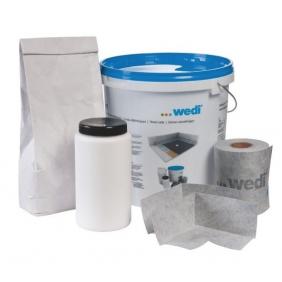 Kit d'étanchéité - pour jonction receveur et cloisons - Wedi Fundo Wedi