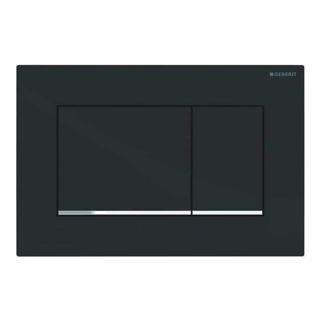 Plaque de commande - double touche - Sigma 30 - facile à nettoyer GEBERIT