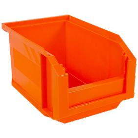 Lot de 6 bacs à bec European 3 litres Orange fluo NOVAP