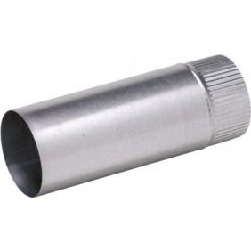 Conduit d'évacuation et de ventilation en aluminium - longueur 1 m TEN