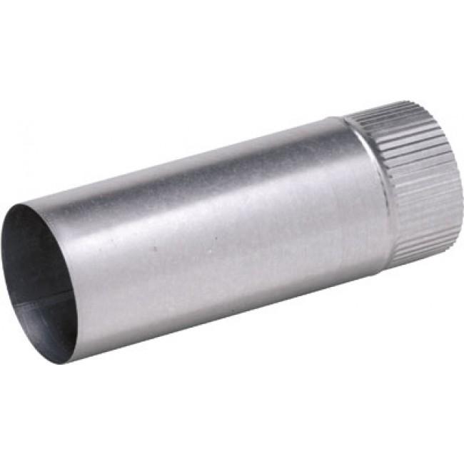 Conduit d'évacuation et de ventilation en aluminium - longueur 0,50 m TEN