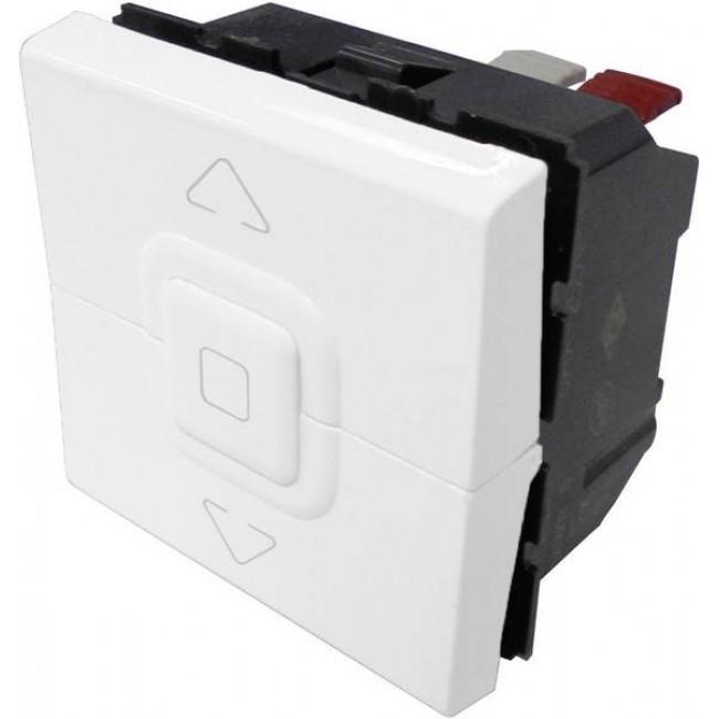 Interrupteur pour volets roulants Mosaic - 2 modules - blanc LEGRAND