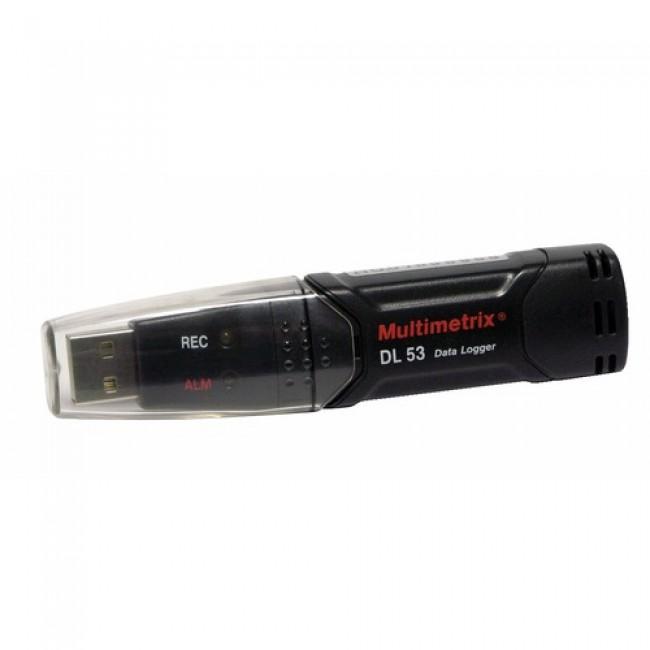 Enregistreur USB de température et d'humidité D.L53 CHAUVIN ARNOUX