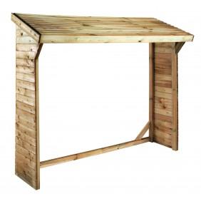 Abri bûches en bois - 2 stères - Olbia JARDIPOLYS