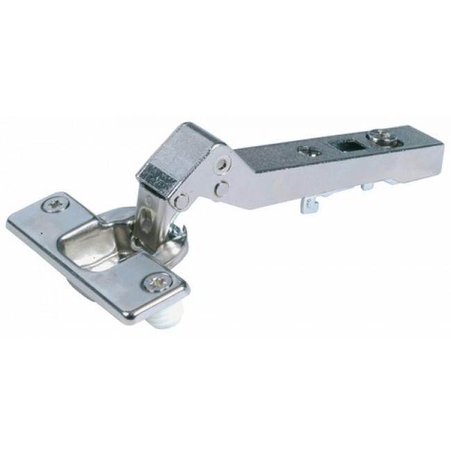 Charnière invisible à enfoncer 95° pour meuble d'angle-Intermat 9936 W45 HETTICH
