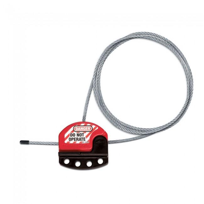 Câble de consignation ajustable - 1,80 m de longueur MASTER LOCK