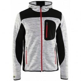 Veste à capuche en tricot renforé SoftShell - 4930 BLAKLADER