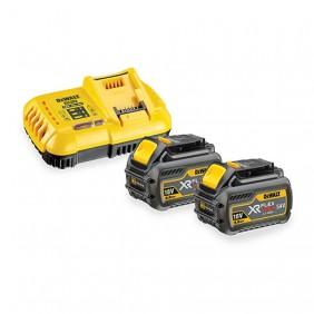 Batterie 18V/54V 6Ah/2Ah Li-Ion XR FLEXVOLT x2 + chargeur rapide DEWALT