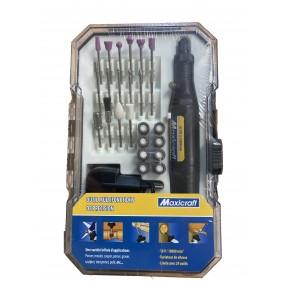 Coffret outil multifonctions de précision 18 volts et 24 outils MAXICRAFT