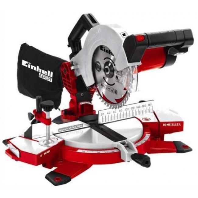 Scie à onglet avec laser - puissance 1400 watts - TE-SM 2112 L EINHELL