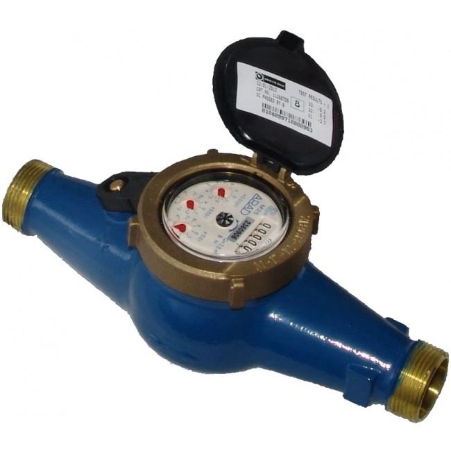 Compteur à jet multiple laiton - DN25 SMARTEO WATER
