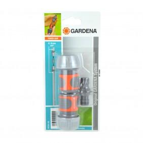 Nécessaire de connexion de tuyau 2 raccords+connecteur 19 mm–18284-20 GARDENA