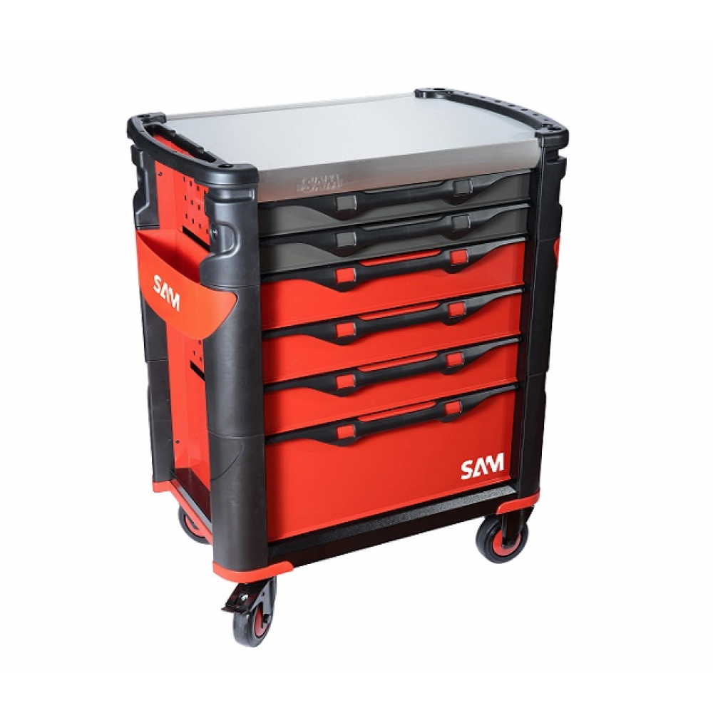 servante 6 tiroirs composition de 135 outils 416 135mz sam outillage bricozor. Black Bedroom Furniture Sets. Home Design Ideas