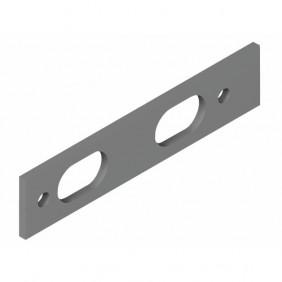 Cale en aluminium pour butoir amovible à clé Sehop - Gris LA CROISÉE DS