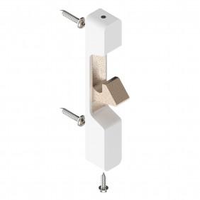 Gâche en applique pour serrure de portail PVC TIRARD