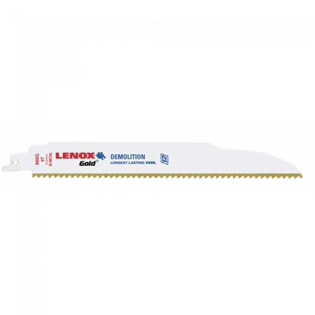 Lame de scie sabre bi-métal pour bois - 966G LENOX