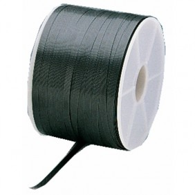 Feuillard polypropylène noir - largeur 12 mm - longueur 800 m CORDERIE MESNARD